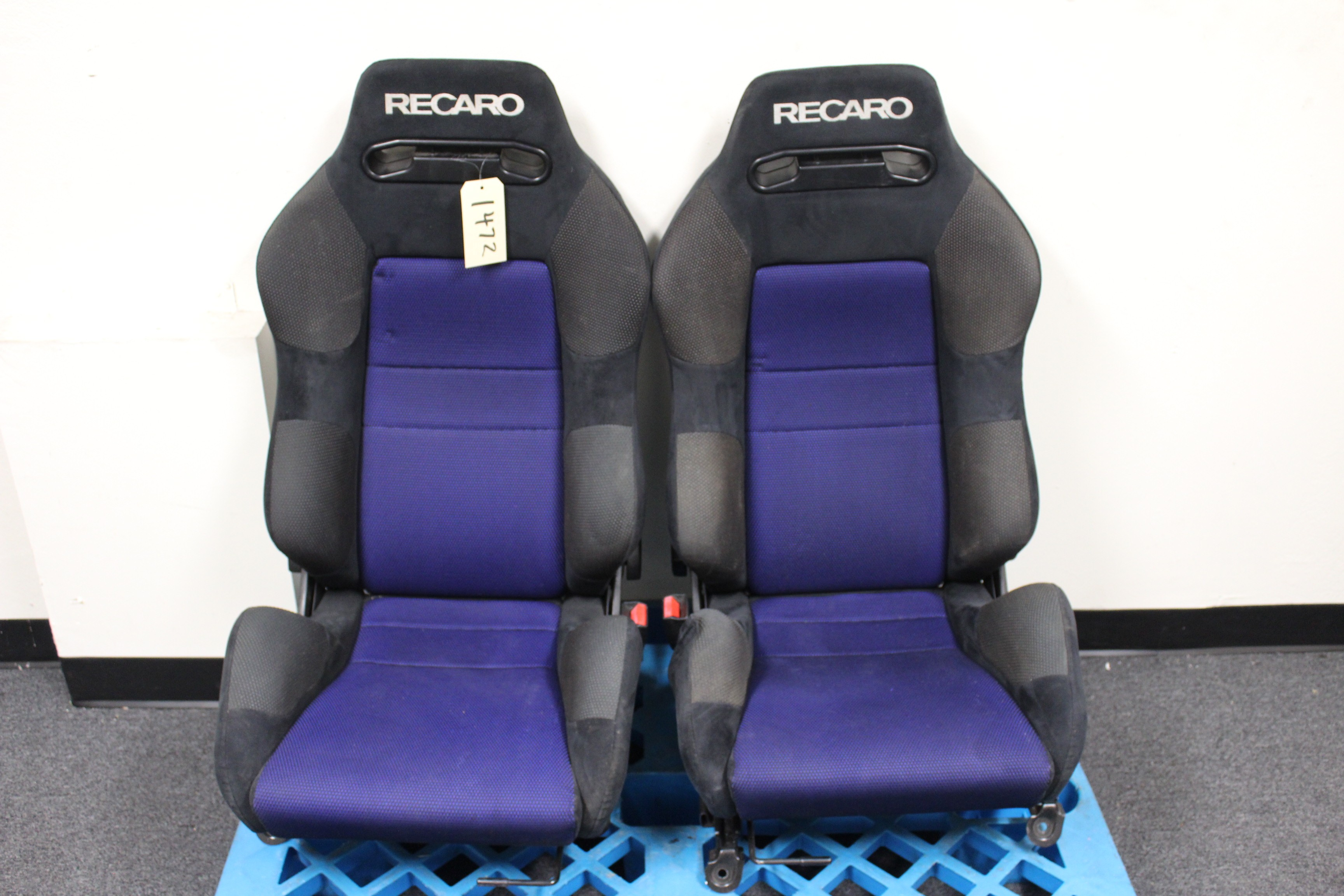 Recaro Racing Seats W Subaru Impreza Wrx Sti Seat Rails Jdm Seats Accessories