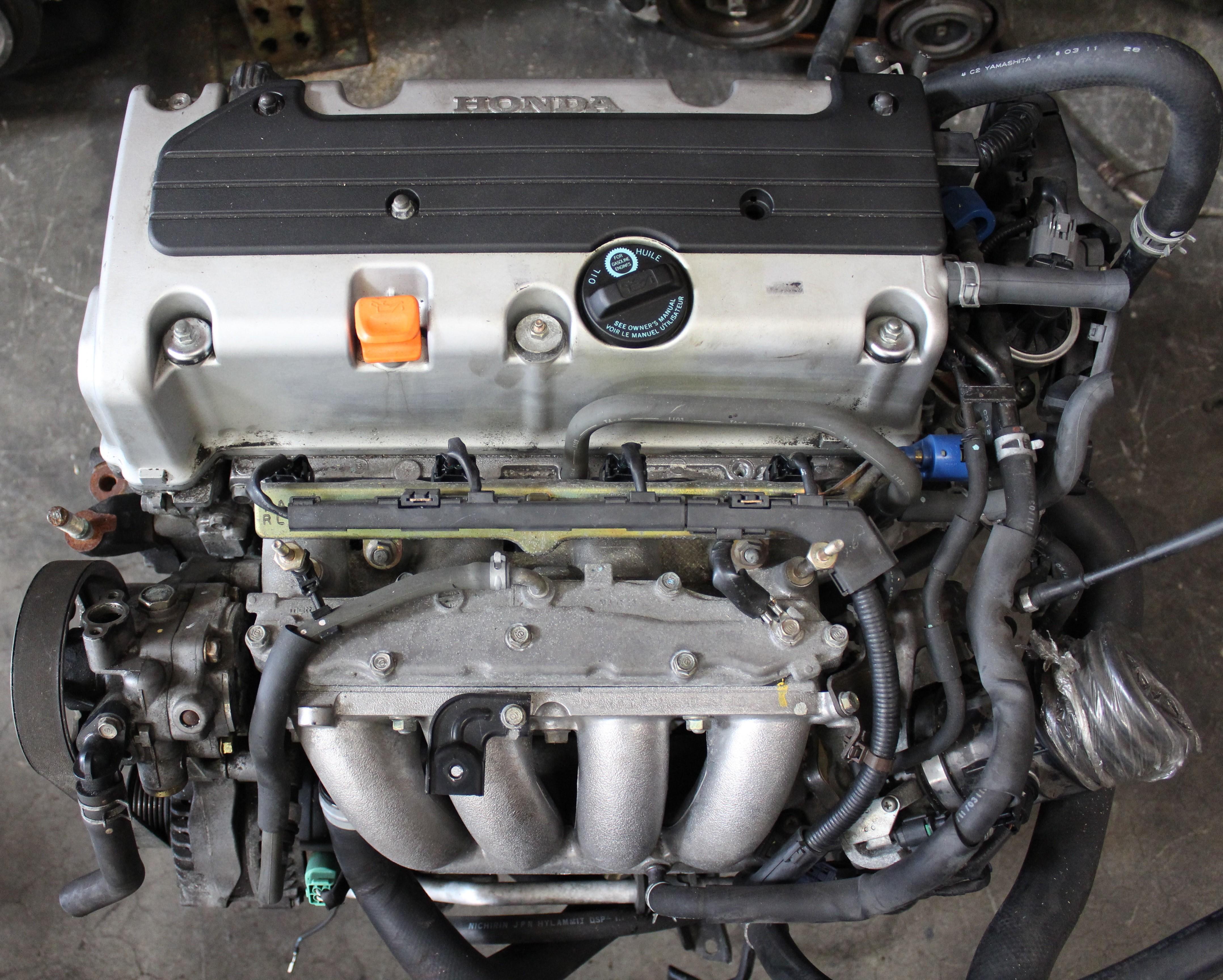 Honda Accord 2 4L DOHC i-VTEC Engine JDM K24A 2003-2005