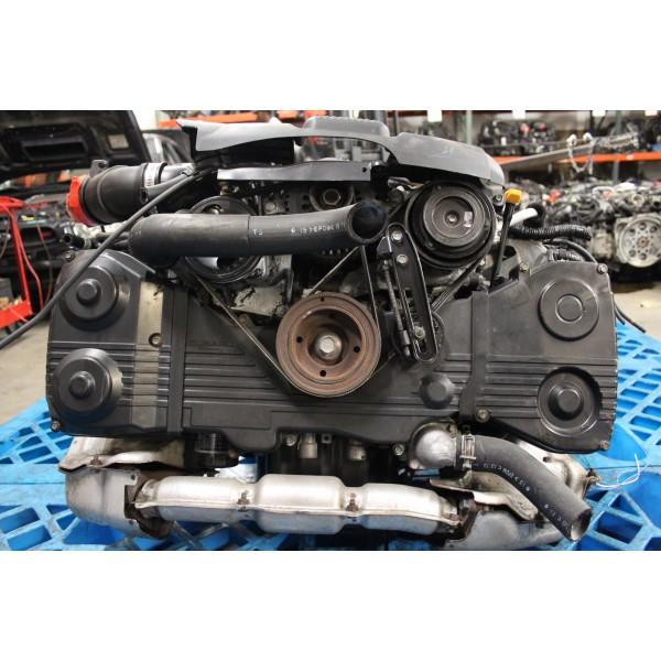 JDM Subaru Legacy Twin Turbo EJ208 Engine 2 0L - JDM Engines