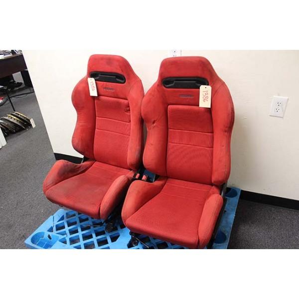 DC2 Honda Integra Type R Red Recaro Seats OEM