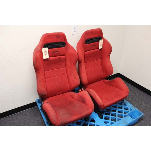 Dc2 Honda Integra Type R Red Recaro Seats Oem Honda Acura
