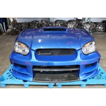 GDB Subaru Impreza WRX STI v8 Chargespeed Front End World Rally Blue
