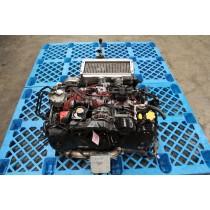 Subaru Impreza WRX STI Ver 5 2.0L Turbo Engine EJ207 w/ 5 Speed Manual Transmission
