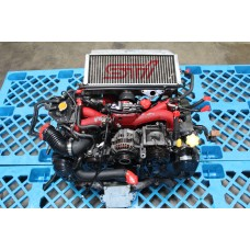 Subaru WRX STI Version 9 Engine EJ207 Twin Scroll Turbo EJ20 Motor