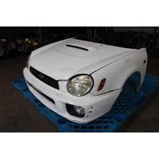 GDA Subaru Impreza WRX Front End V7 Aspen White