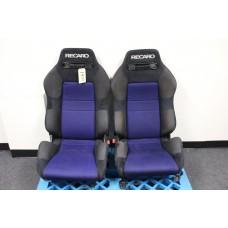 Recaro Racing Seats w/ Subaru Impreza WRX STI Seat Rails