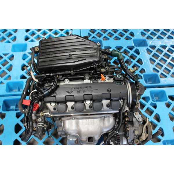 honda civic dx lx ex 1 7l sohc vtec engine jdm d17a 2001. Black Bedroom Furniture Sets. Home Design Ideas