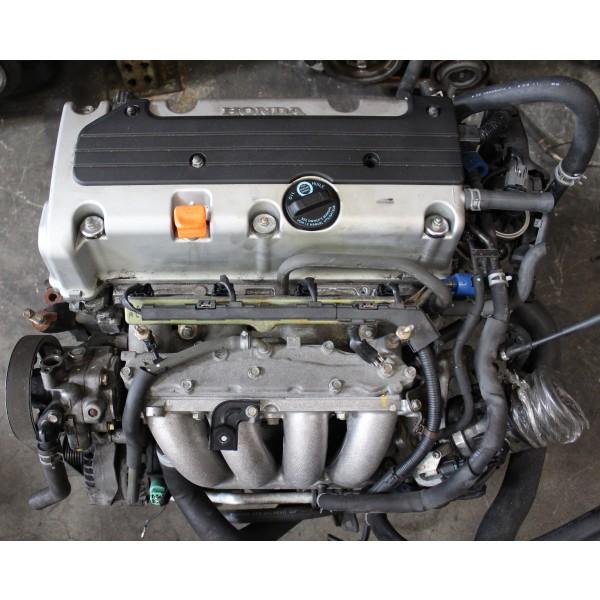Honda Accord 2.4L DOHC i-VTEC Engine JDM K24A 2003-2005 ...