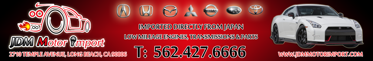 JDM Motor Import
